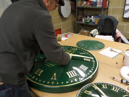 Exterior Clock Production