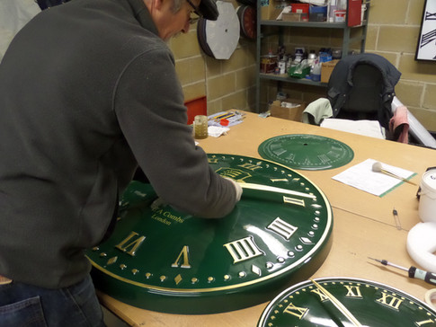 Exterior Clock Production