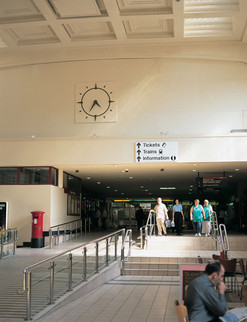 Clocks for train stations