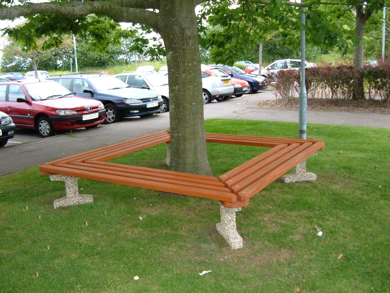 Southampton tree bench (2)