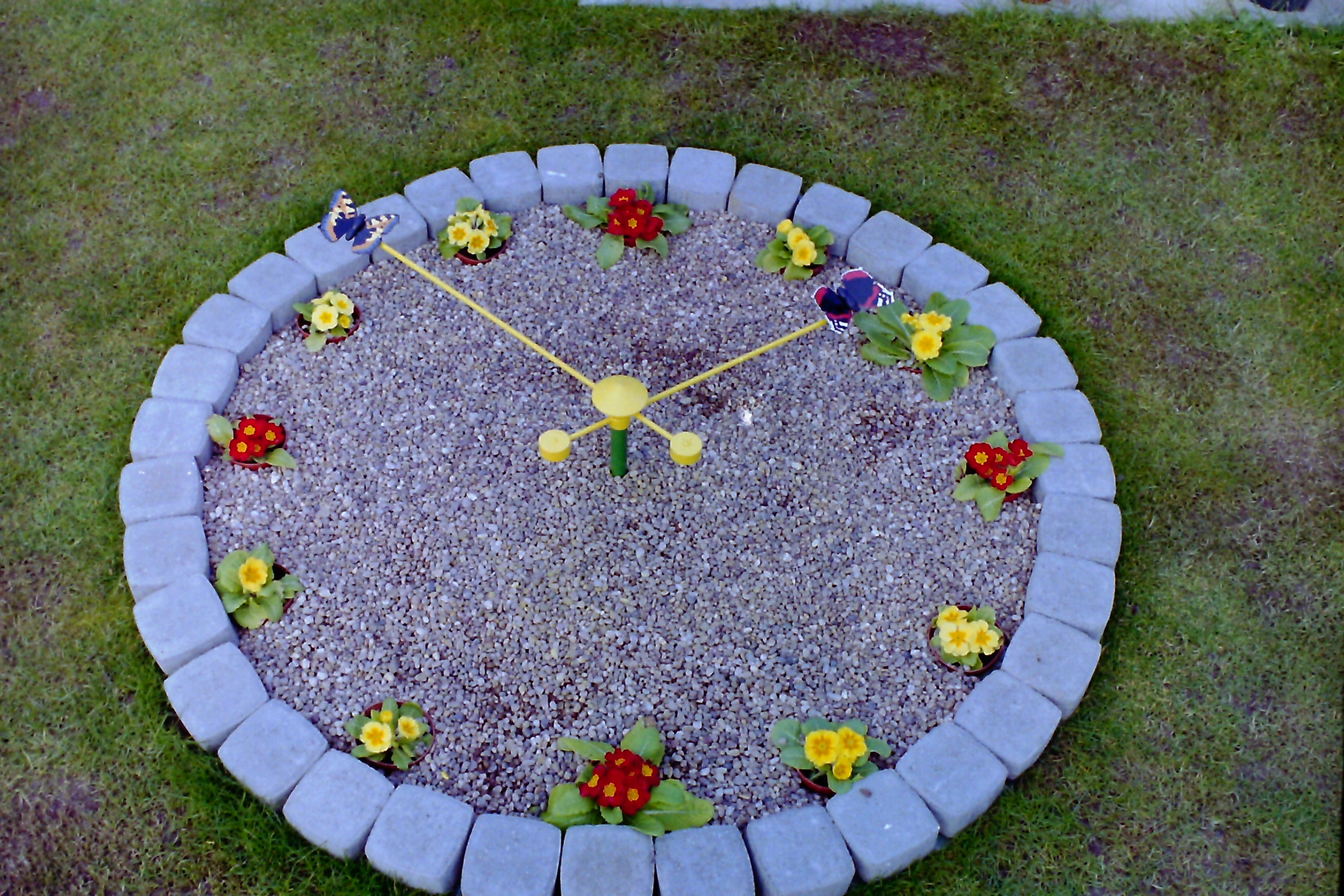 Floral Clock for civic centres and parks