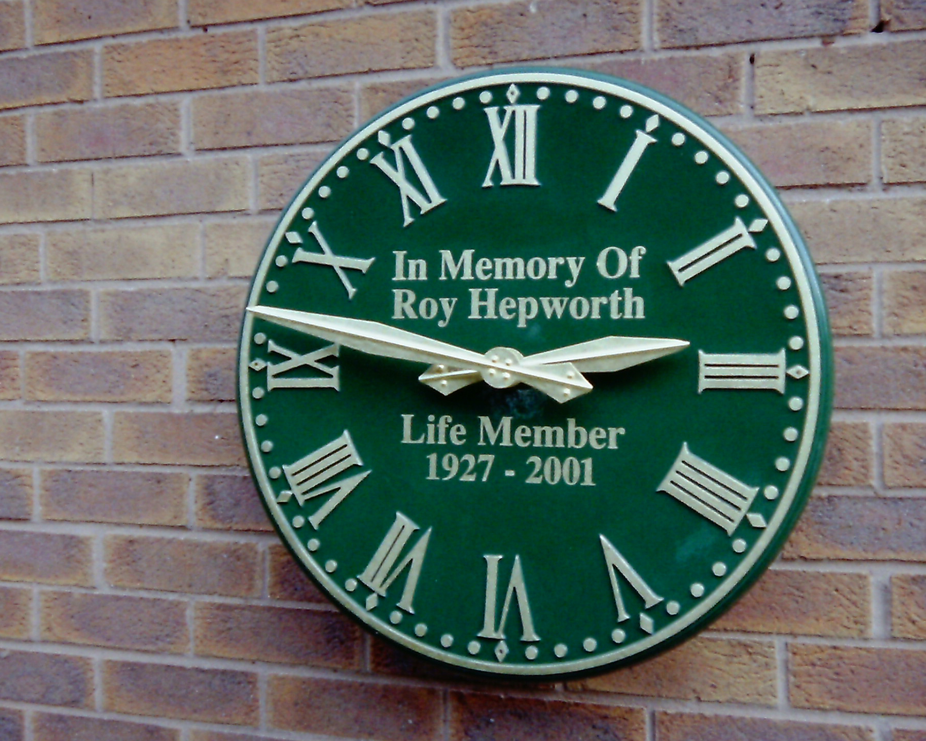 Outdoor Clocks for Golf Courses