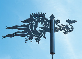 Bespoke Logo Weathervane