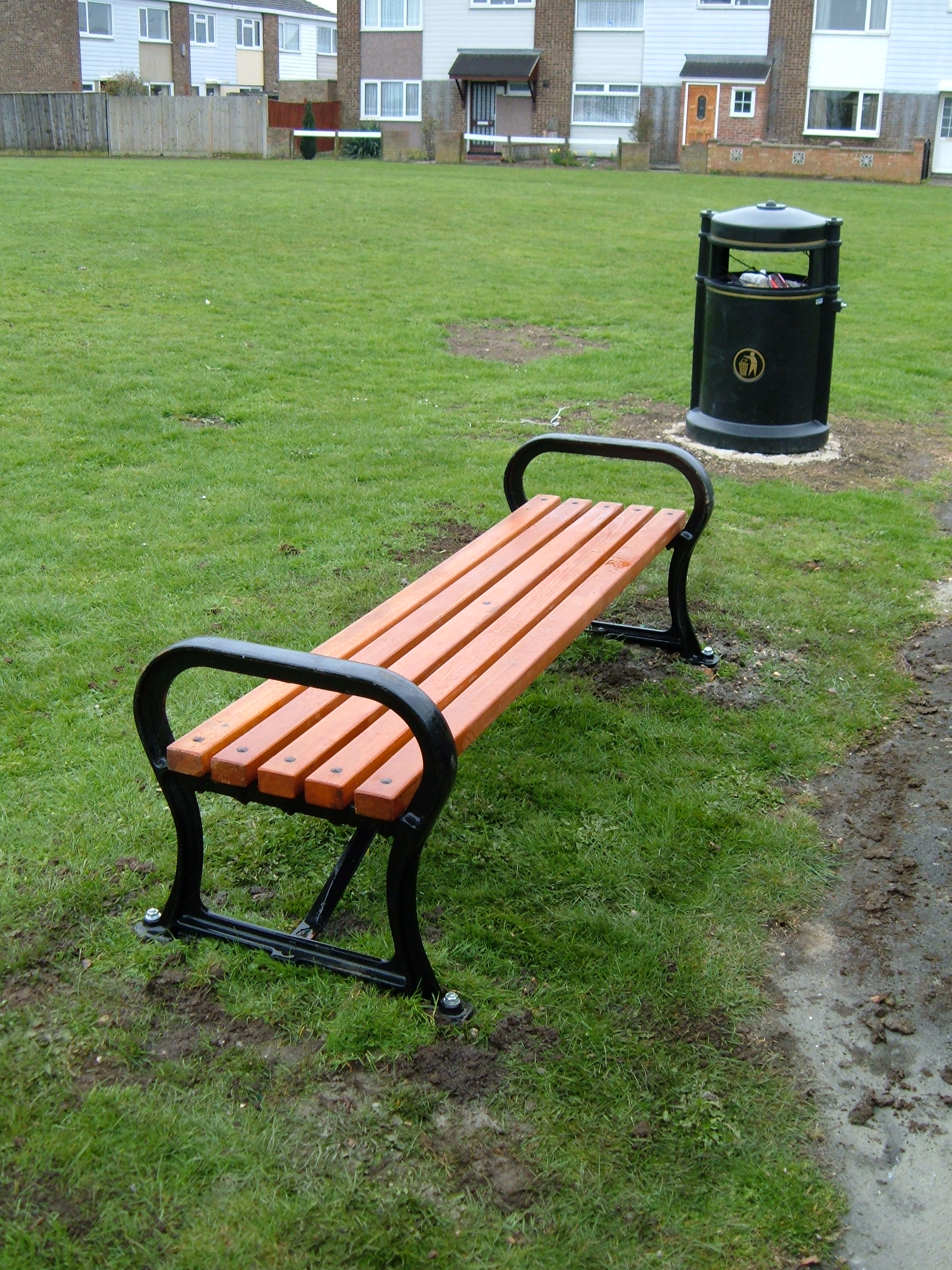 Avenue bench wood (5)