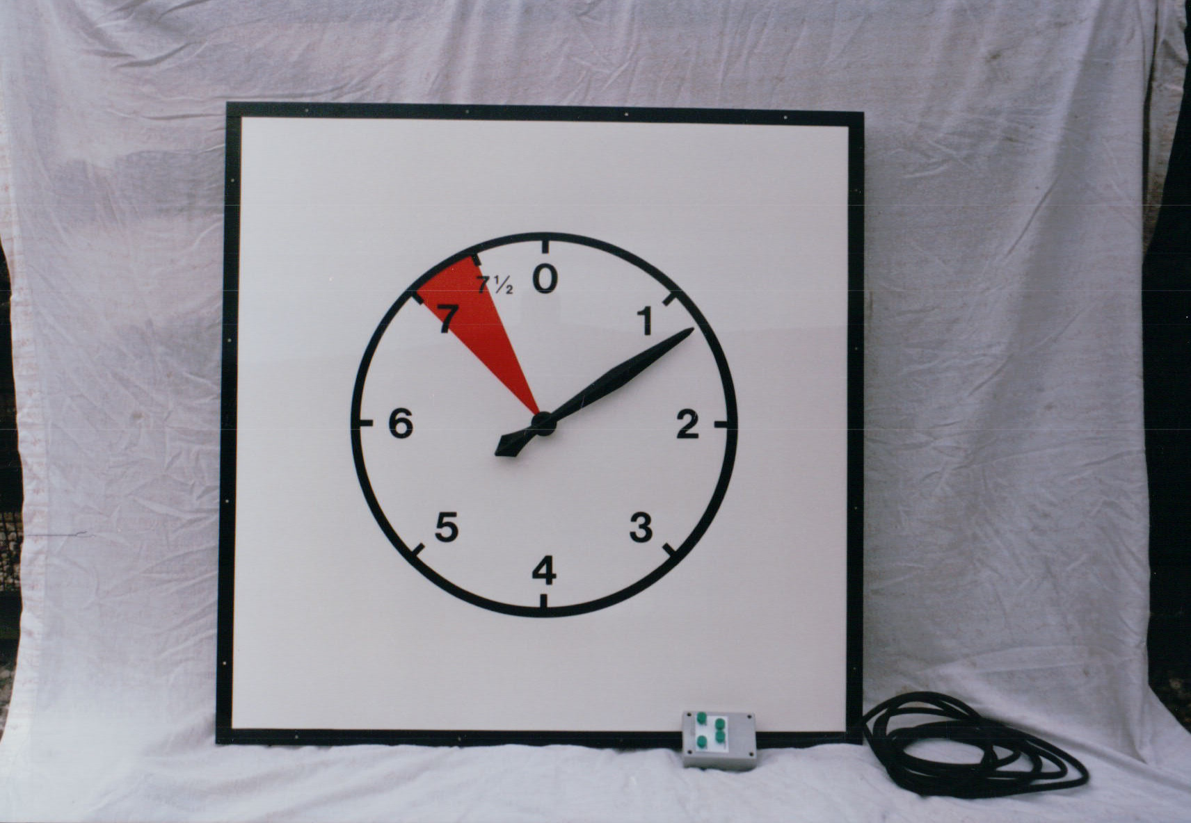 Sports timing clock