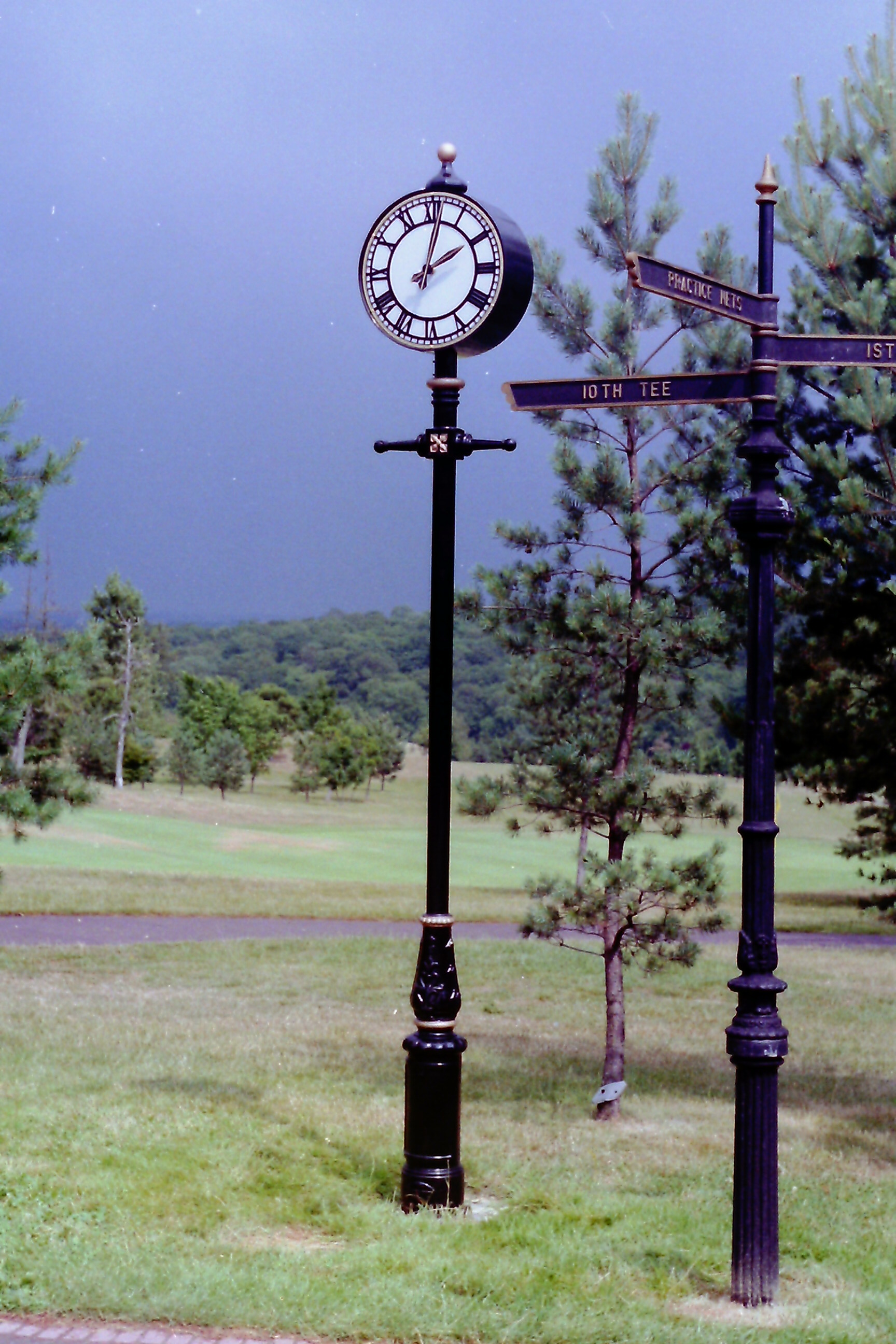 Pillar Clock for park