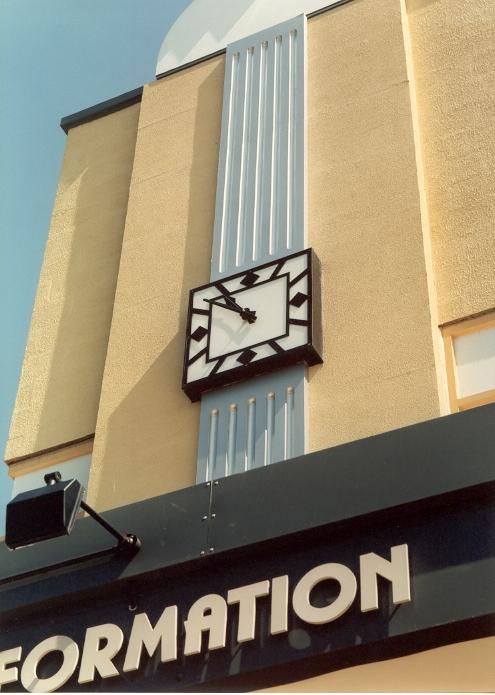 Clacton Retail Park Exterior Clock