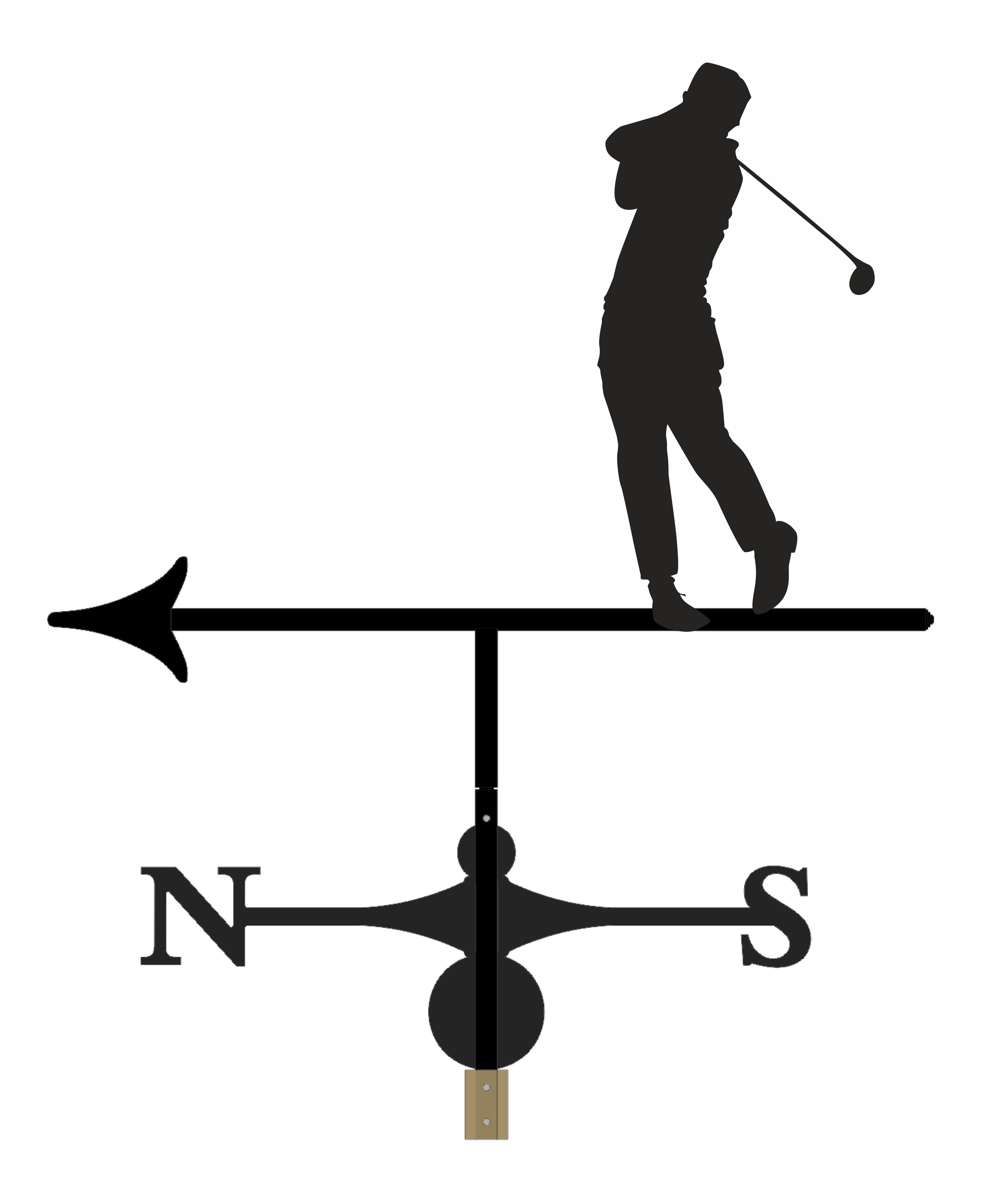 Weathervane - Golfer 5