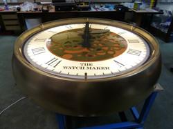 Clock for inside a pub