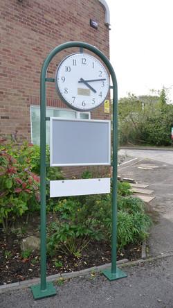 Signage clock