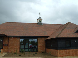 Royal Ascot Golf Club clock tower