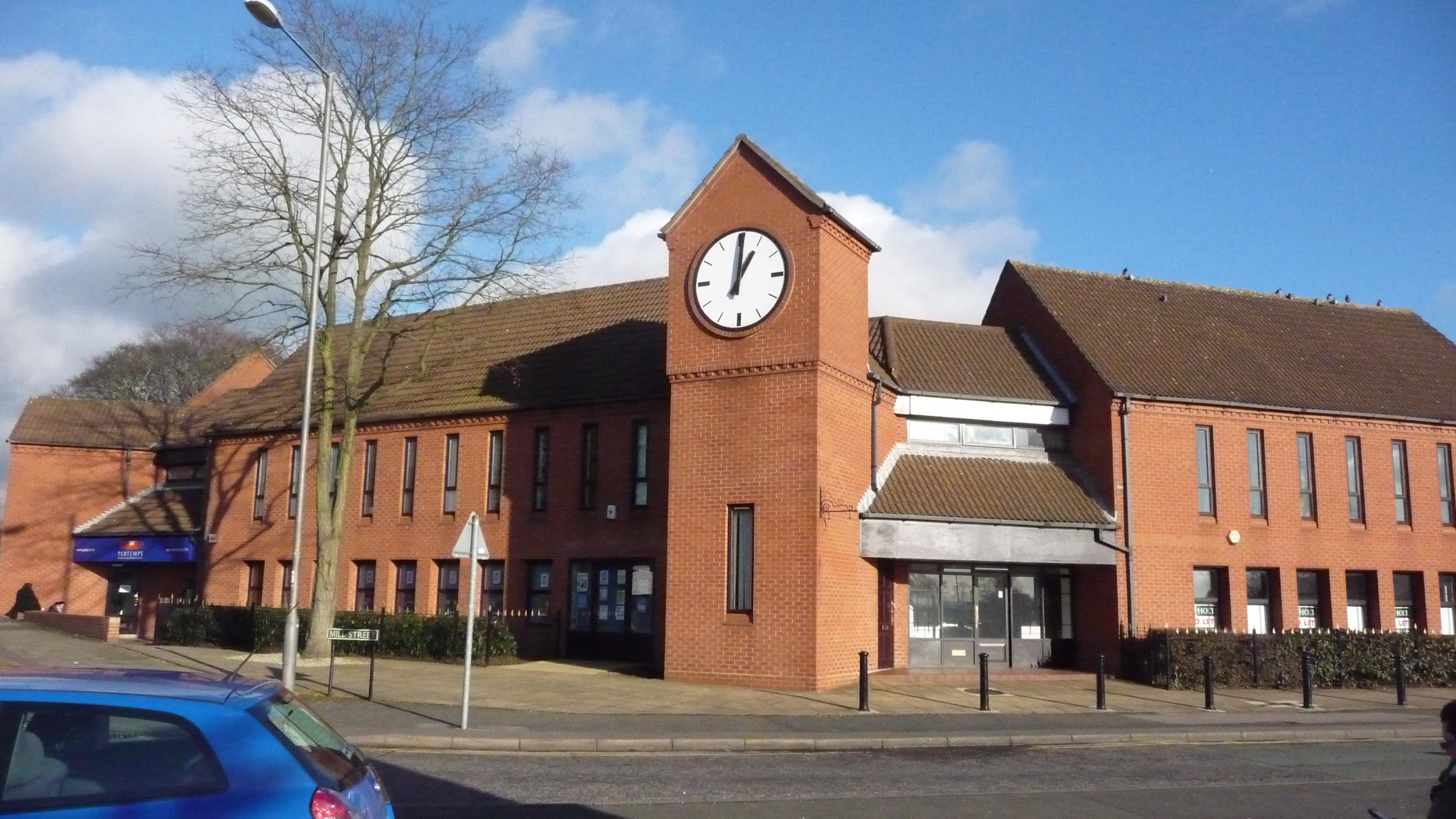 Large exterior modern clock