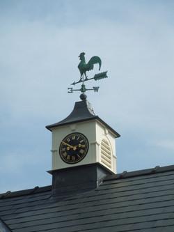 Black Traditional Clock