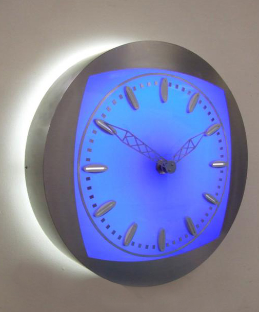 Illuminated bezel clocks