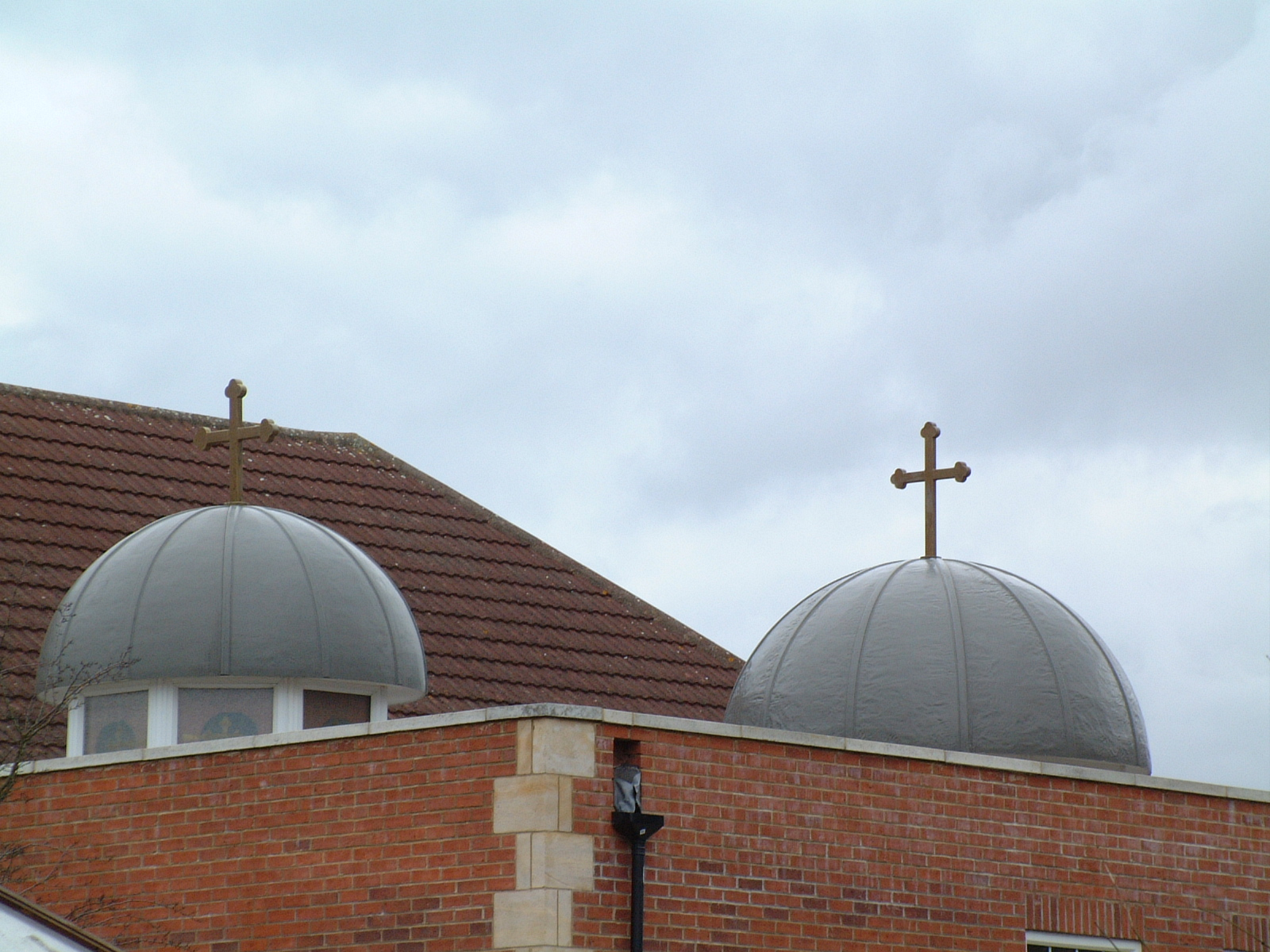 Glazed roof lanterns for a church
