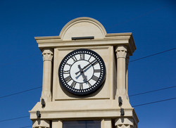 Marble Grandfather Clock