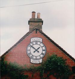 Corporate clocks for buildings