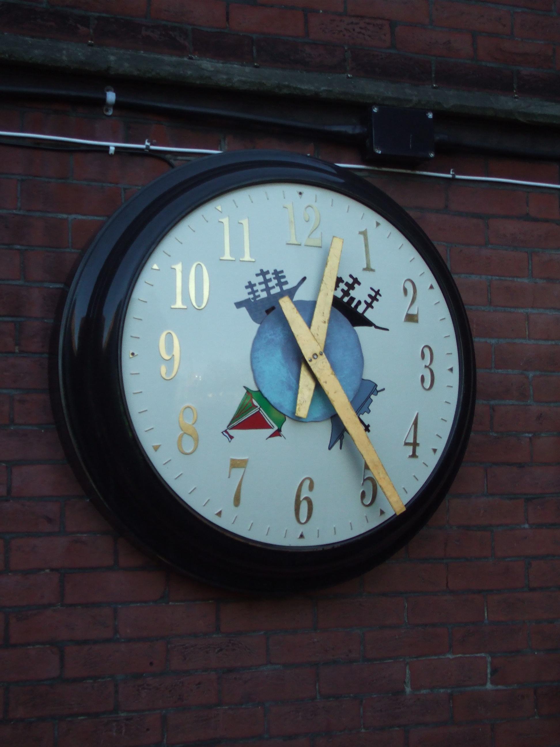 Bespoke clock for Grammar school