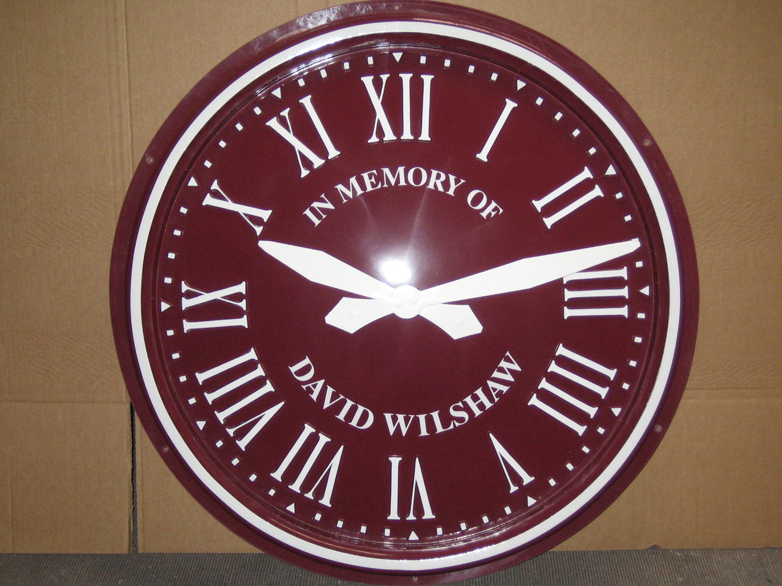 Commemorative Exterior Clock