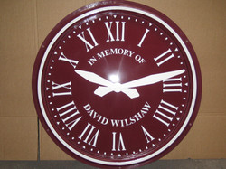 Commemorative Exterior Clock