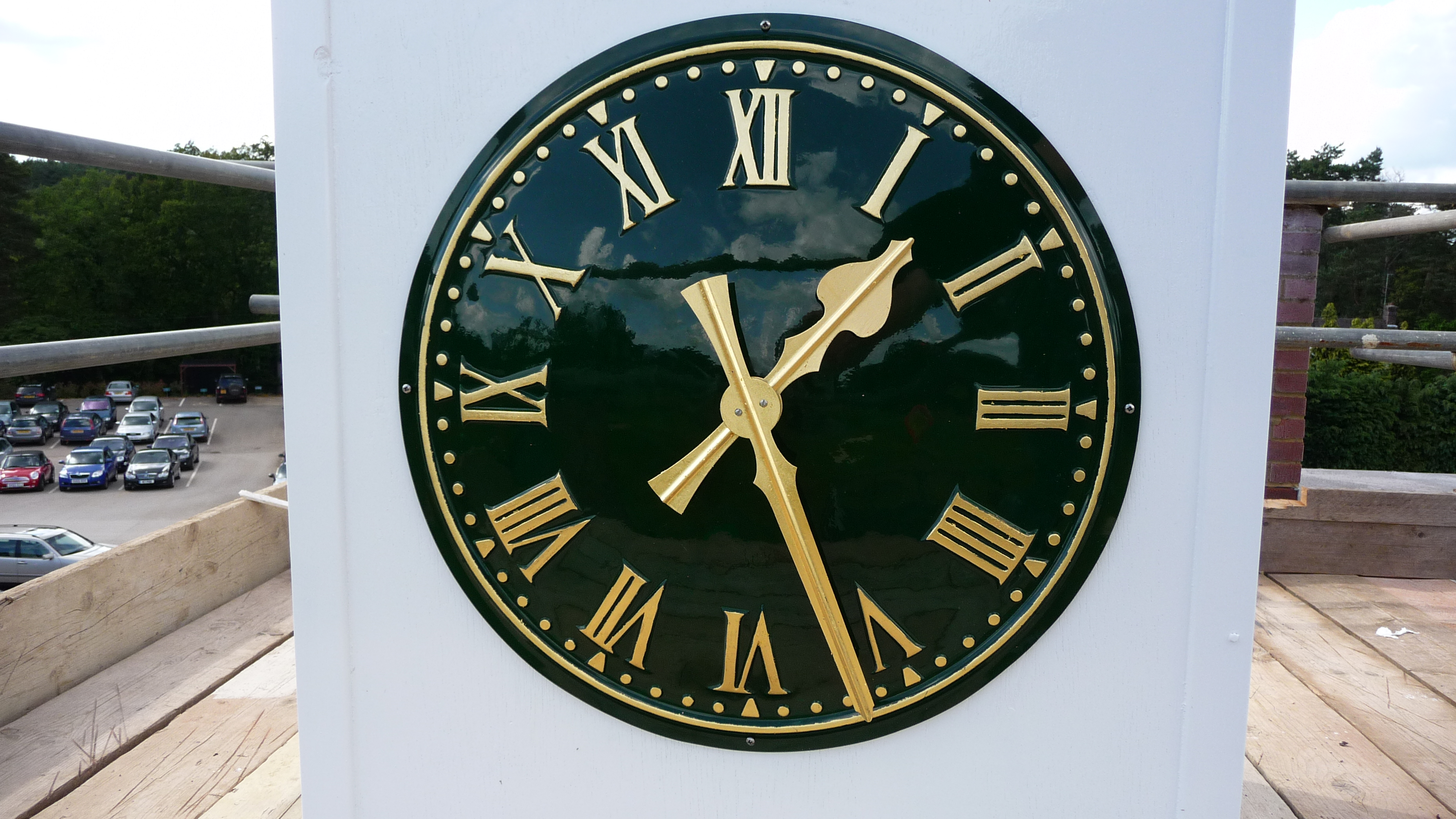 Black Traditional Clock
