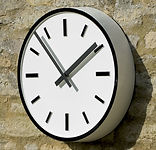 Bezels for housing exterior clocks