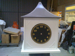 Clock tower for village hall