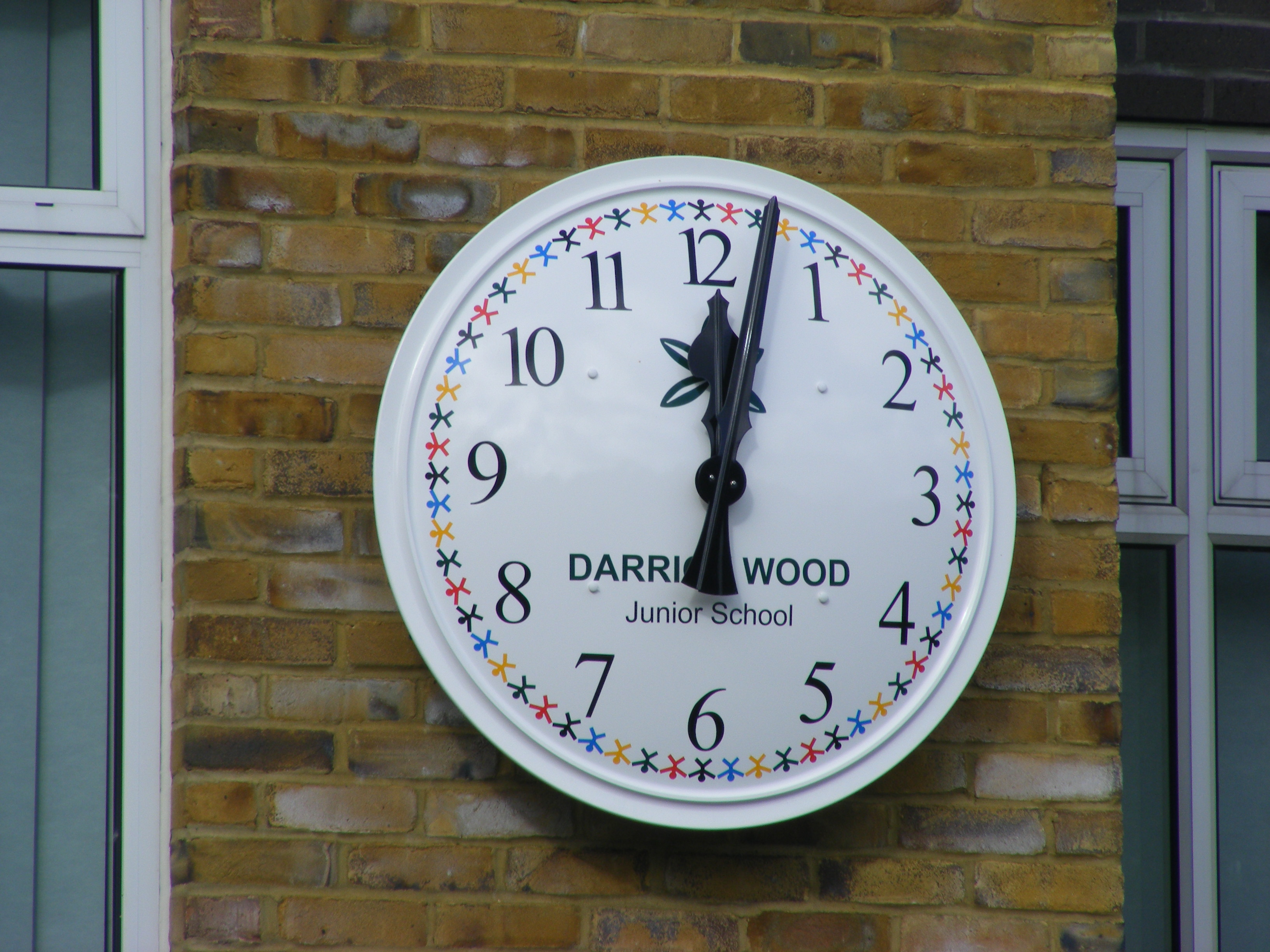Darrick clock close up