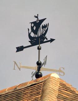 Weathervane - Viking Boat