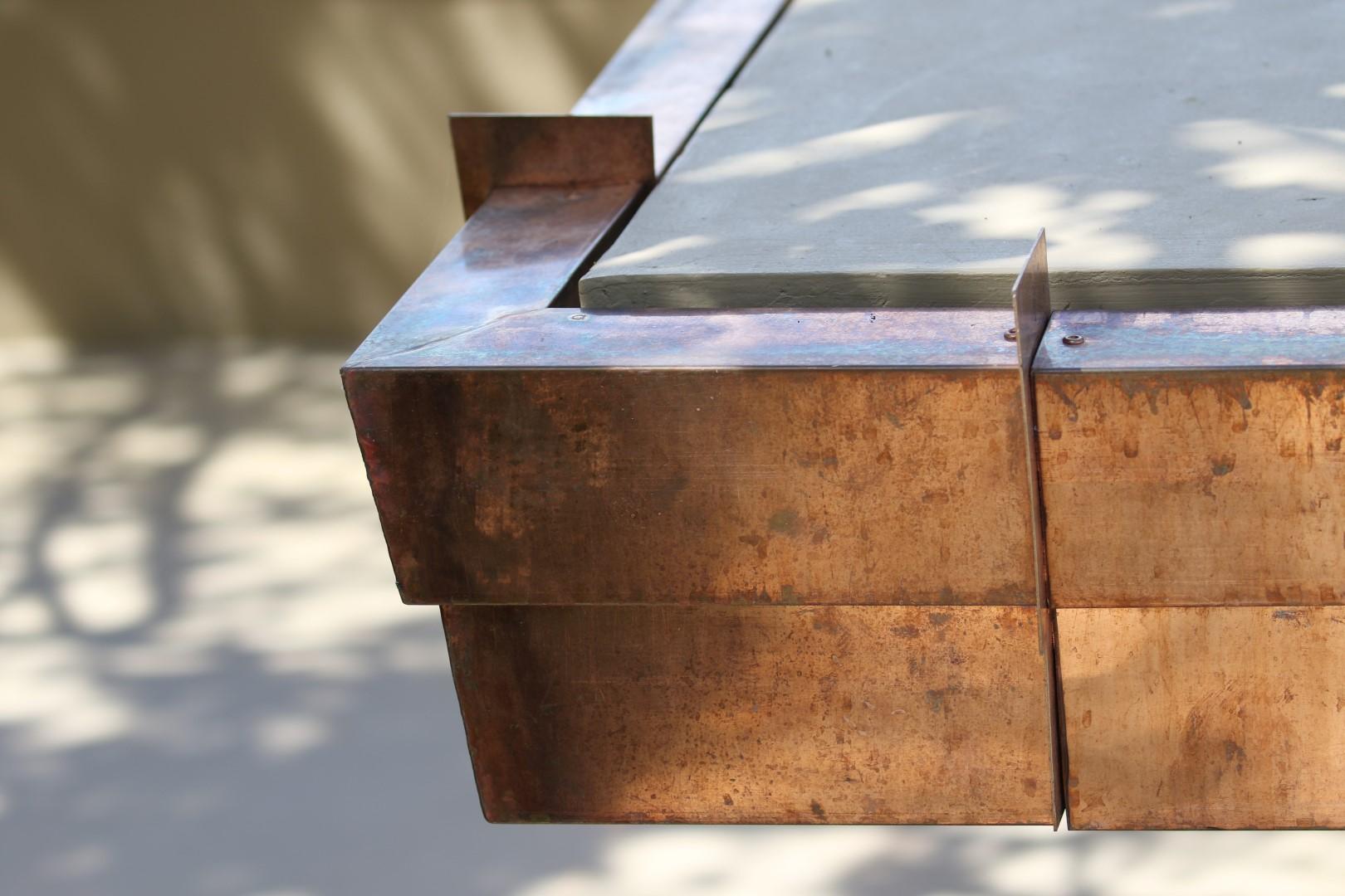 Copper fascias and soffits