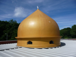 Mosque roof feature