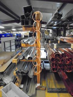 Manufacturing Rain Chains