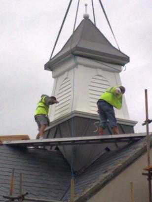 GRP Roof Turret