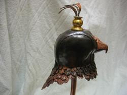 Falcon head for weathervane