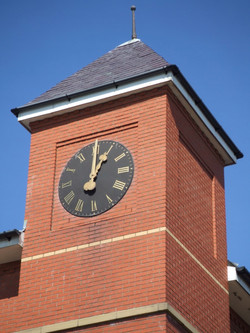 Roman Numeral Large Clock