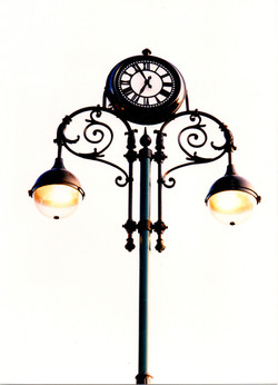 Pillar Clock for Civic and Public spaces