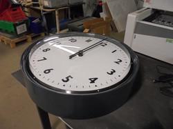 Flat Sided Bezel Clock