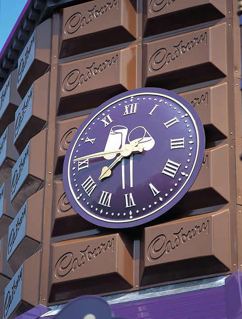 Exterior clocks customised to customer requirements
