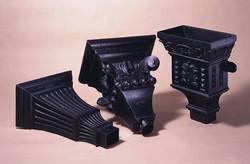 GRP cast iron effect hoppers