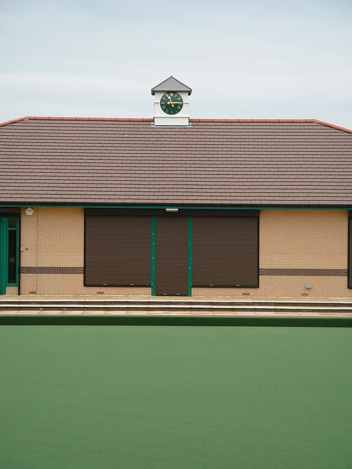 Clock towers for bowls clubs