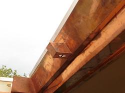 Copper soffit and fascia