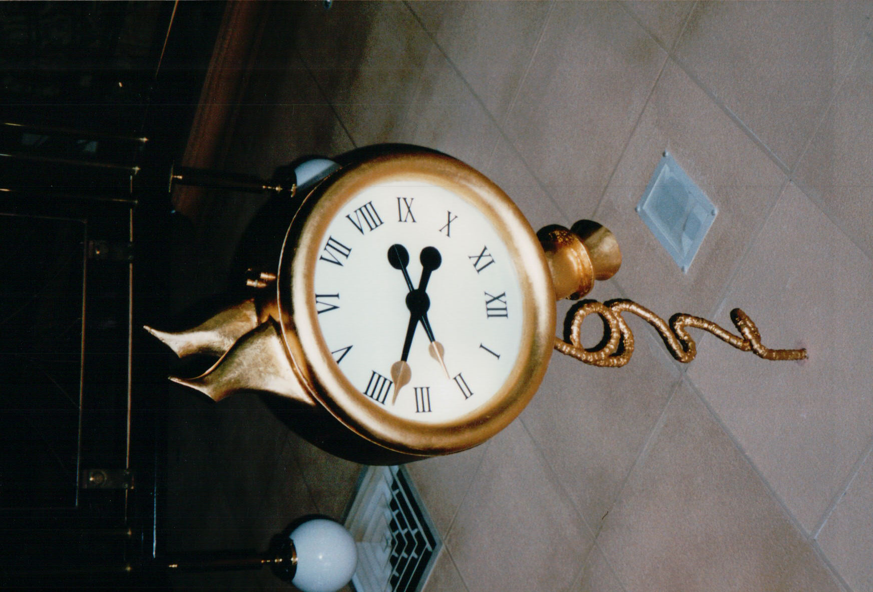 Customised Feature Clock