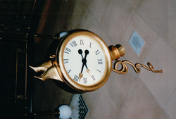 Customised Feature Interior Clock