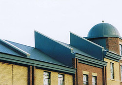 GRP dome roof