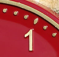 Exterior and Outdoor Clock Dial colours