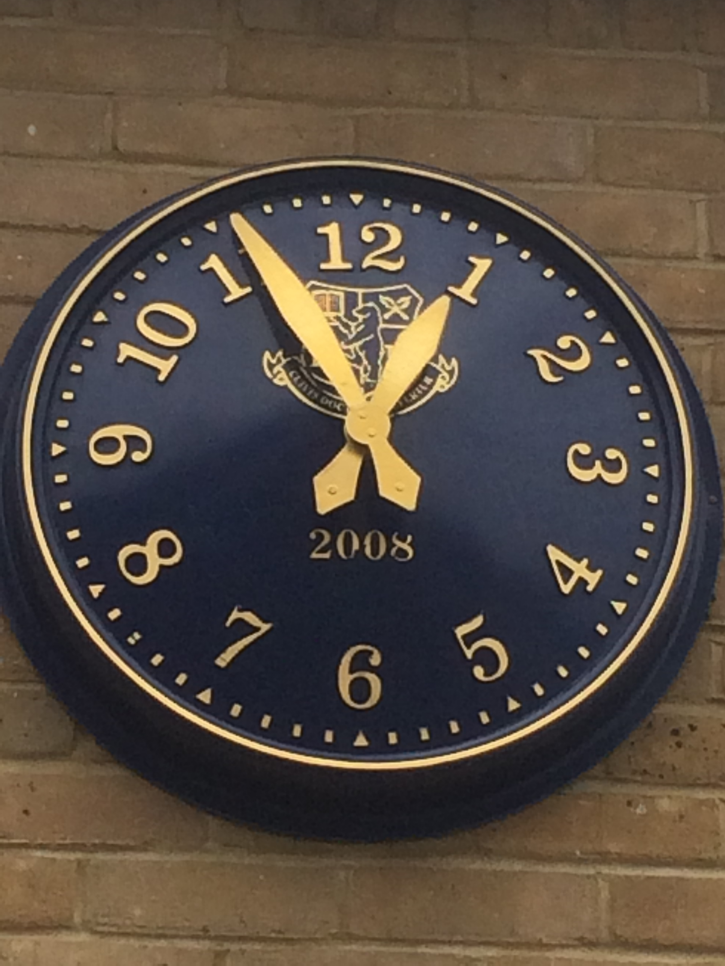 Large Outdoor Clock for buildings