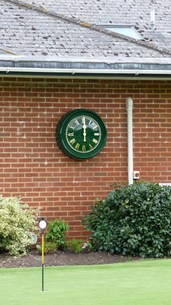 Hankeley Golf Club clock
