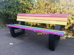 Rainbow seat