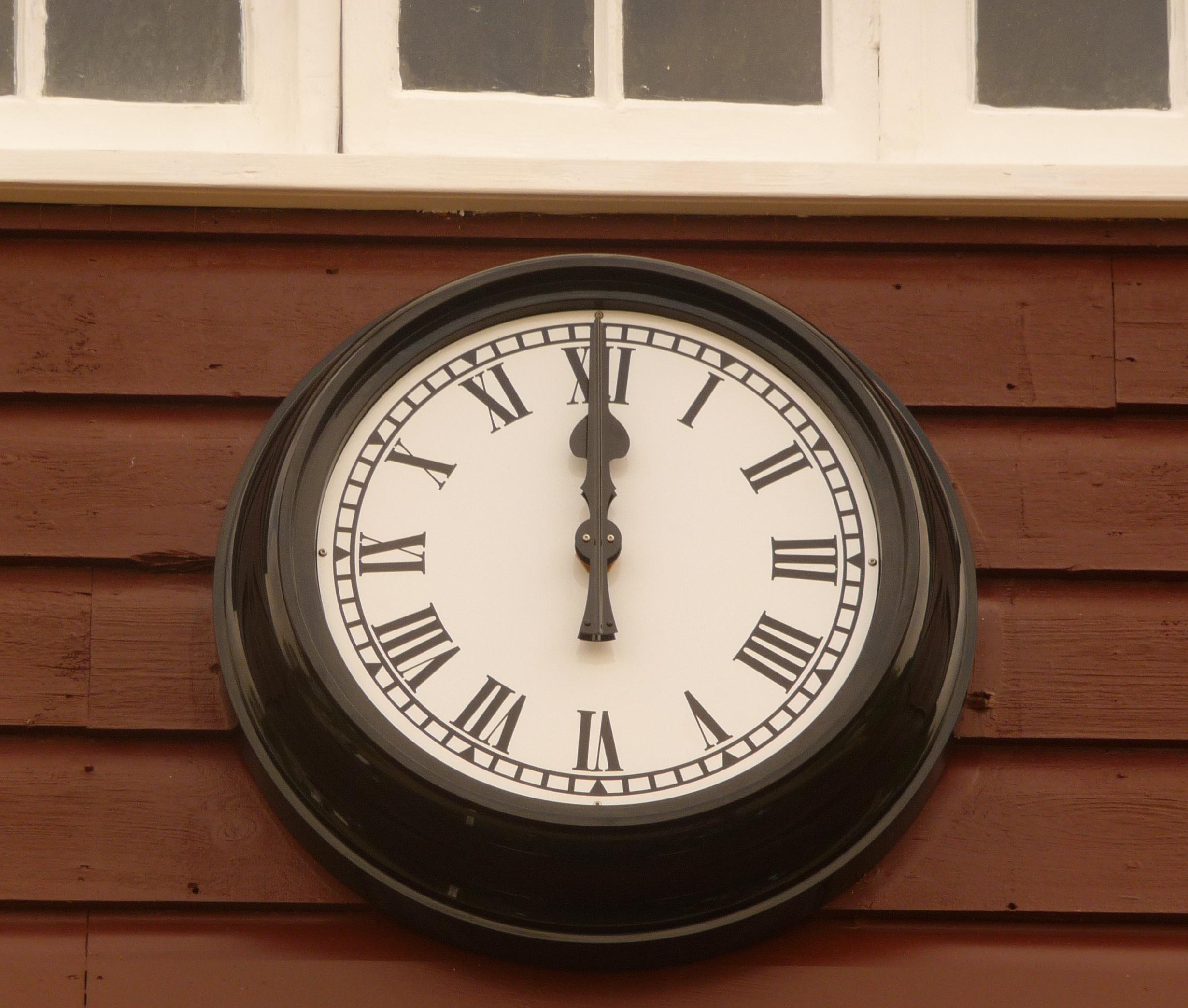 Cheltenham College Boat House Clock