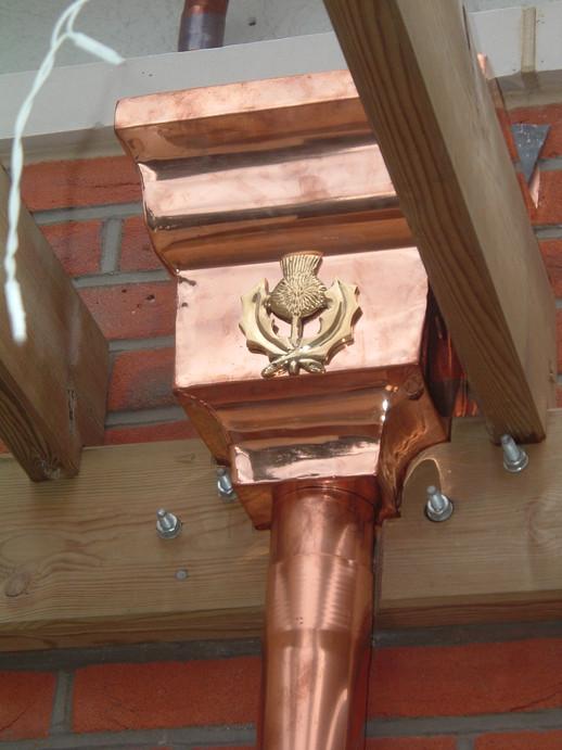 Bespoke Hopper Head with embellishment